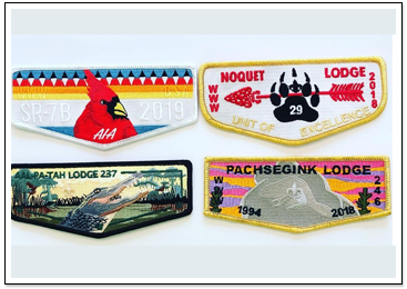 Wildlife Lodge Patches